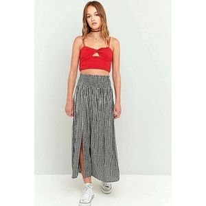 Urban Outfitters Ecote Plaids & Checks Maxi Skirt